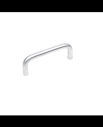 Builder's Choice D-Pull, Satin Chrome, 3 inches cc