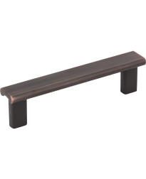 """Park 3 3/4"""" Centers Pull in Brushed Oil Rubbed Bronze"""