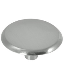 Modern Standards Knob 1 1/2-Inch in Satin Nickel