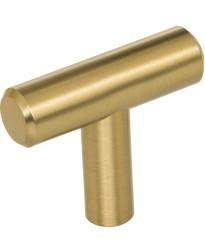 """Naples 1 9/16"""" Long """"T"""" Knob in Satin Bronze"""