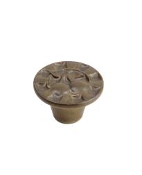 Alps Ceramic Knob, Dark Brown, 1 1/2 inch dia
