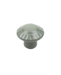 Alps Ceramic Knob, Matte Green, 1 3/8 inch dia