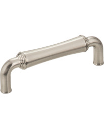 "Bremen 3 3/4"" Centers Gavel Pull in Satin Nickel"
