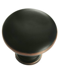 Hollow Steel Knob 1 3/8-Inch in Oil Rubbed Bronze