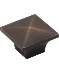 """Cairo 1-1/4"""" Cabinet Knob in Brushed Oil Rubbed Bronze"""