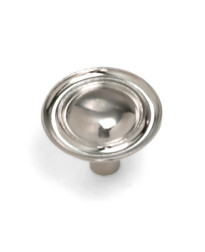 Georgetown Ambassador Knob 1 1/4-Inch in Satin Chrome