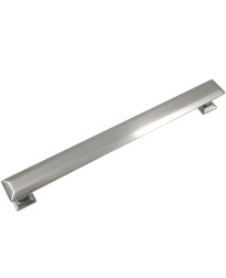 Poise 8-Inch Center to Center Pull with Back Plate in Satin Nickel