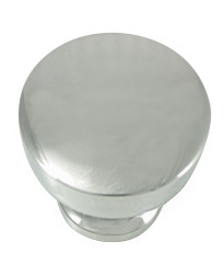 Precision 1 1/4-Inch Knob in Polished Nickel