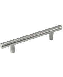 "Melrose Stainless Steel T-Bar Pull - 96mm - 5 3/4"" Overall"