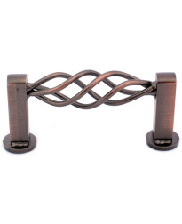 """3 1/4"""" Pull - Mission Bay - Oil Rubbed Bronze"""