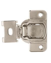 1/2in (13 mm) Overlay Matrix Concealed Nickel Hinge - 2 Pack