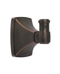 Clarendon Single Robe Hook in Oil-Rubbed Bronze