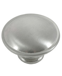 Georgetown Knob 1 1/4-Inch in Satin Chrome