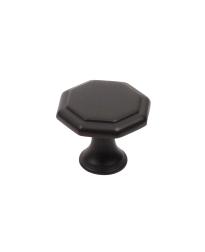 """Apac 1-3/16"""" Polygon Knob, Oil Rubbed Bronze"""