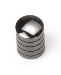 5/8-Inch Delano Cylinder Knob in Black Nickel