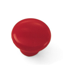 Plastic Knob 1 1/4-Inch in Red