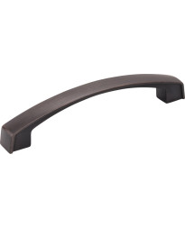 Merrick 128mm Centers Cabinet Pull in Brushed Oil Rubbed Bronze