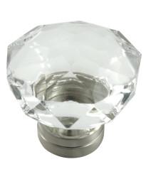 Kristal 55mm Knob in Polished Chrome