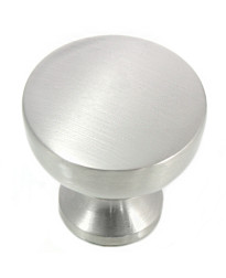 Precision 1 1/4-Inch Knob in Satin Nickel