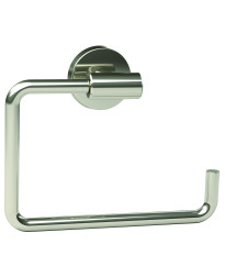 Arrondi 6-7/16 in (164 mm) Length Towel Ring in Polished Stainless Steel