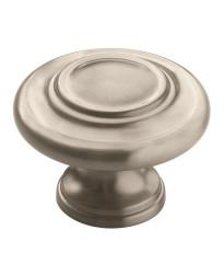 Inspirations 1-3/4 in (44 mm) Diameter Satin Nickel Cabinet Knob
