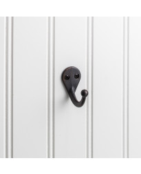 "1 3/4"" Single Wall Mount Coat Hook In Brushed Oil Rubbed Bronze"